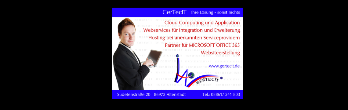 GerTecIT in der Cloud